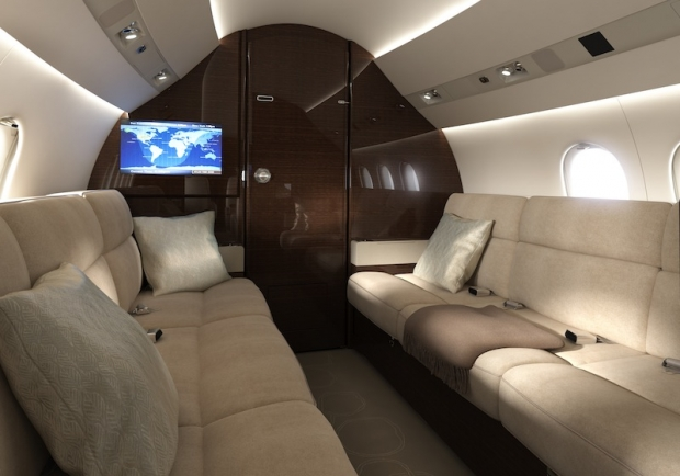 Dassault avia news for Interieur falcon 2000