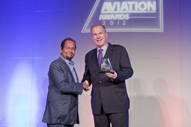 Qatar Executive's Executive Vice President Tilmann Gabriel Receives Best Business Aviation Operator Award.jpg