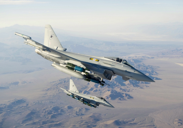 RAF No 11 Squadron Typhoon at Green Flag, USA.jpg