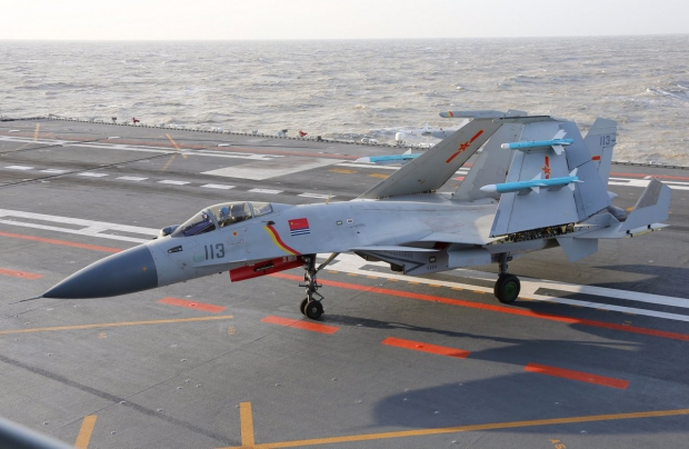 chine,marine chinoise,aéronavale chinoise,shenyang j-15t flying shark,blog défense,aviation et défense,infos aviation,les nouvelles de l'aviation