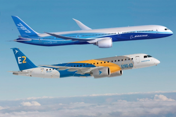 boeing,embraer,les nouvelles de l'aviation,romandie aviation