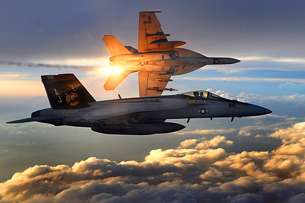 FA-18_Super_Hornets_of_Strike_Fighter_Squadron_31_fly_patrol,_Afghanistan,_December_15,_2008.jpg