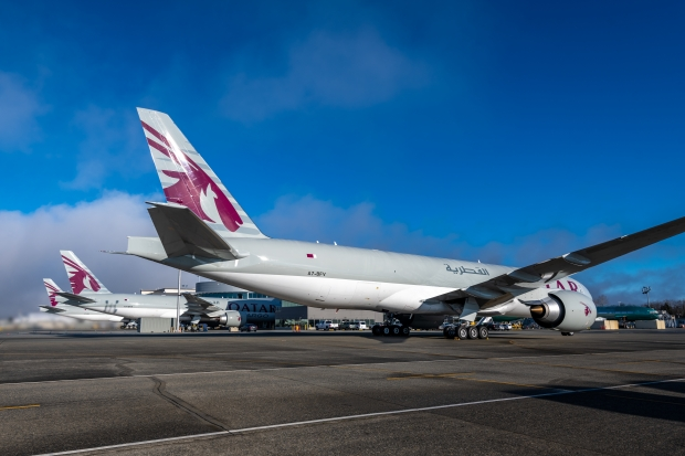 qatar airways cargo,boeing,b777f,fret aérien,les nouvelles de l'aviation,aviation francophone