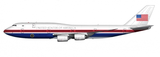 boeing,b747-8 intercontinental,air force one,vc-25b,usaf,blog défense,avion présidentiel,les nouvelles de l'aviation