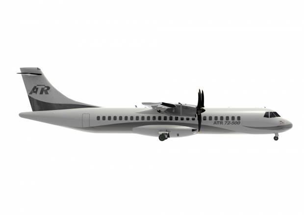 ATR 72-500 series in the corporate livery.jpg