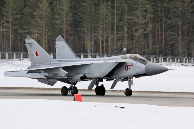 russie,arctique,aviation russe,rac mig-31,mig-31bm
