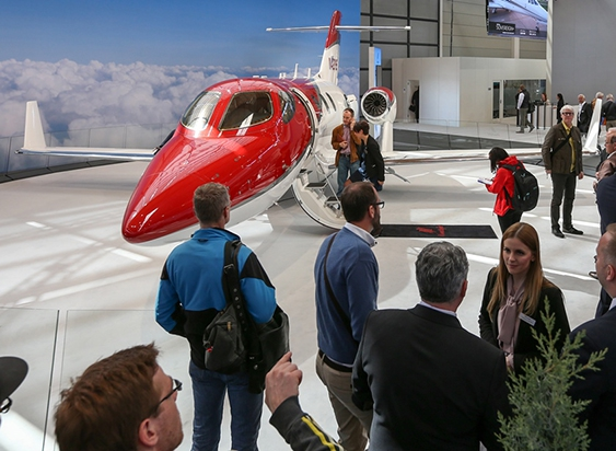 HondaJet at AERO 2016 feature.jpg