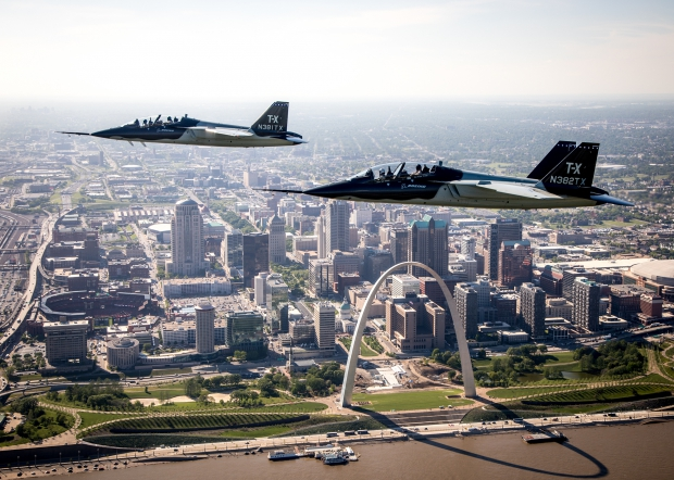 Two Boeing T-X over STL Arch PUBLIC_high-res.jpg