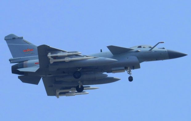 J-10 C Spotted with Chinese High Agility PL-10 5th Generation Within Visual Range Air-to-Air Missile and PL-15 Beyond Visual Range Air to Air Missile (BVRAAM) (2).jpg