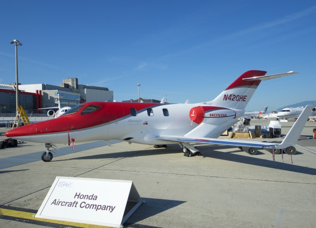 hondajet,jet d'affaires,infos aviation,les nouvelles de l'aviation